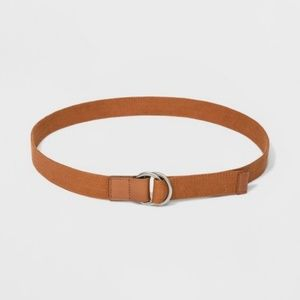 Women's Webbed Belt Universal Thread Tan XL